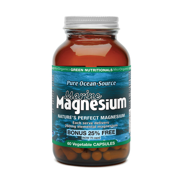 GREEN NUTRITIONALS Marine Magnesium 60vc