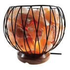 Salt Lamp Small Carved Fire Bowl by Bonfire Candle Co