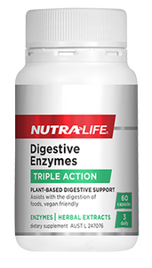 NUTRA LIFE Digestive Enzymes 60c