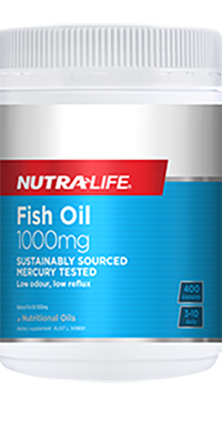 NUTRA LIFE Fish Oil 1000mg 400c