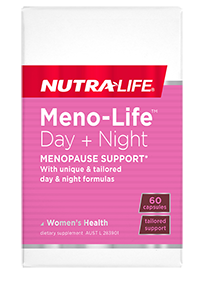 NUTRA LIFE Meno-Life Day + Night 60c
