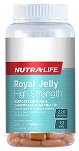 NUTRA LIFE Royal Jelly High Strength 220c