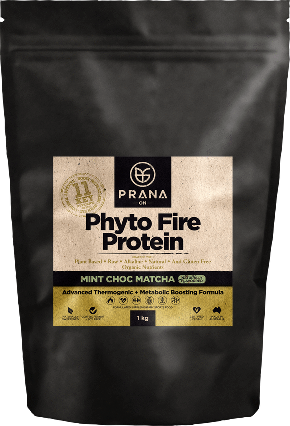 PRANA ON Phyto Fire Protein Mint Choc4