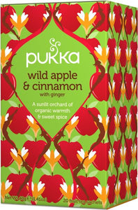 PUKKA Wild Apple & Cinnamon Tea 20tb