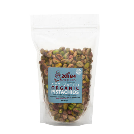 2 DIE 4 LIVE FOODS Activated Pistachios 100g