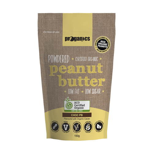 PROGANICS Organic Powdered Peanut Butter C