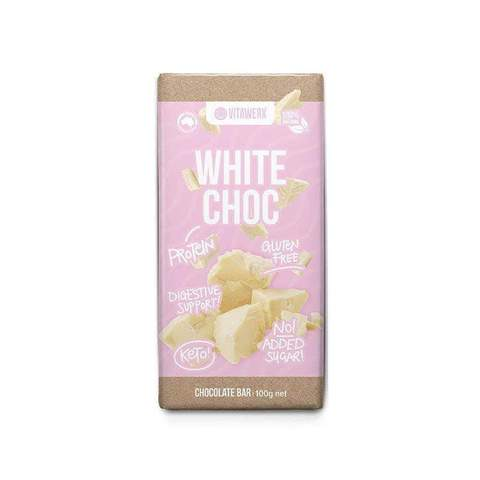 VITAWERX White Choc Bar 100g