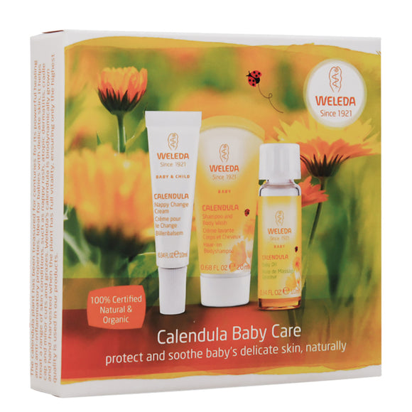WELEDA Baby Care Starter Kit