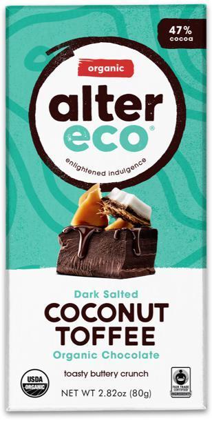ALTER ECO Organic Choc Coconut Toffee