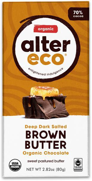 ALTER ECO Organic Choc Salted Brown Butter