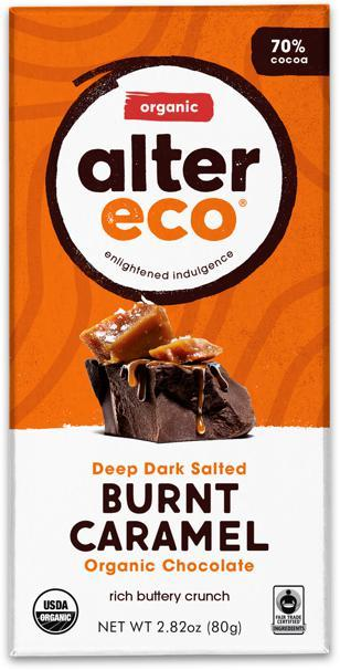 ALTER ECO Organic Choc Salted Burnt Carame