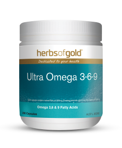 HERBS OF GOLD Ultra Omega 369 200c
