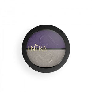 INIKA Mineral Eye Shadow Duo Purp Plat