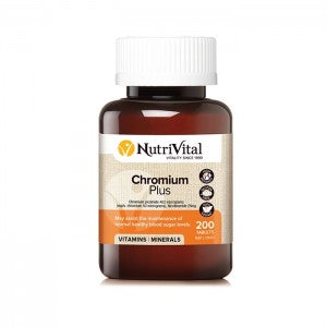NUTRIVITAL Chromium Plus 200t