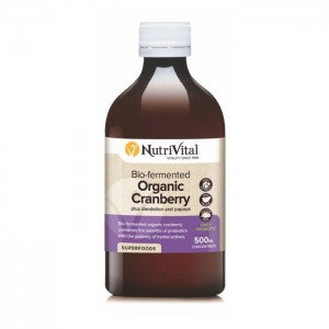 NUTRIVITAL Bio-fermented Cranberry 500ml