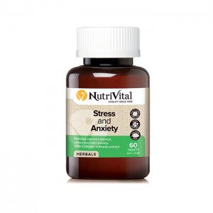 NUTRIVITAL Stress & Anxiety 60t