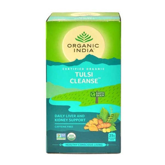 ORGANIC INDIA Tulsi Cleanse Tea 25tb