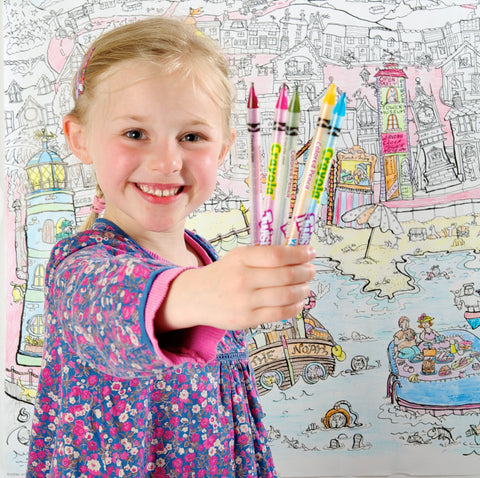 Amazing Colouring in Posters