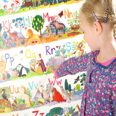 Nursery, ABC and Numbers Posters