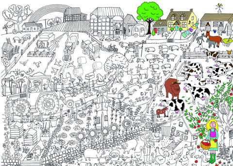 Amazing Colouring in Posters – ReallyGiantPosters.com