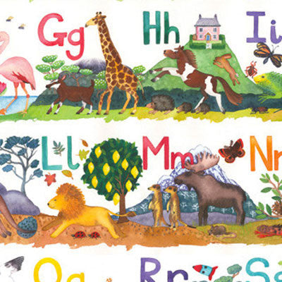 Animal ABC Poster by Claire Winteringham ...