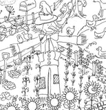 Farm Colouring in Poster