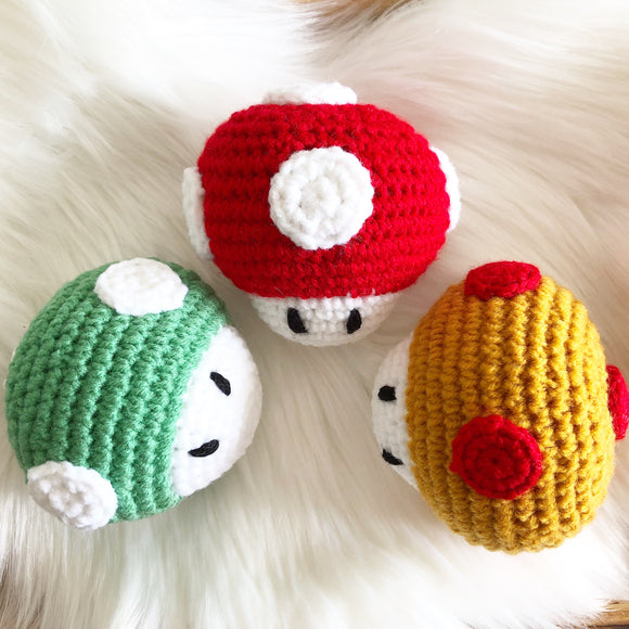 Mushroom (Mario) Inspired Stuffed Toy