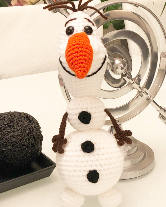 Olaf Inspired Stuffed Toy