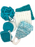 7-piece Deluxe SPA Scrubbies Set