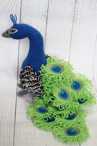 Peacock Stuffed Toy