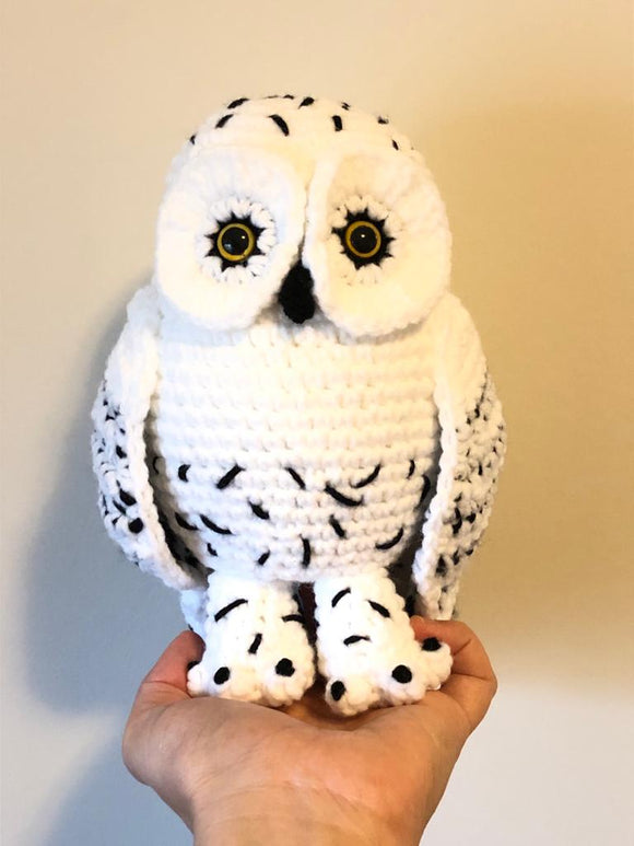 Snowy Owl Stuffed Toy