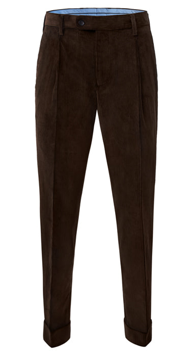 Barnaba I 8 Wale Heavy Corduroy Dark Brown