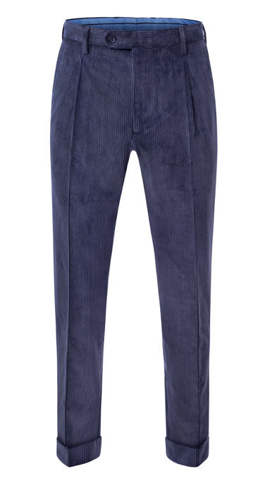 Heavyweight Corduroy Trousers Navy