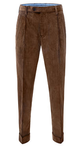 Heavyweight Corduroy Trousers Chestnut
