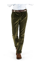 Load image into Gallery viewer, Heavyweight Corduroy Trousers Olive Green