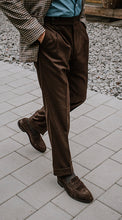 Load image into Gallery viewer, Barnaba II Sartorial Line Brown Flannel