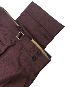 Barnaba II Burgundy Wool Flannel