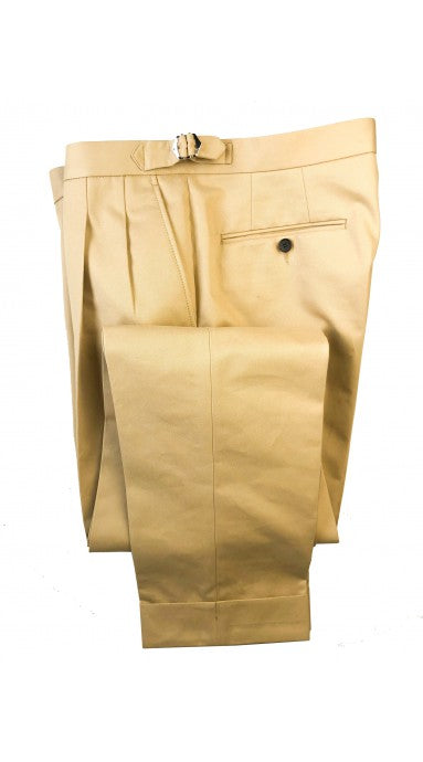Barnaba II Pancake Cotton Trousers