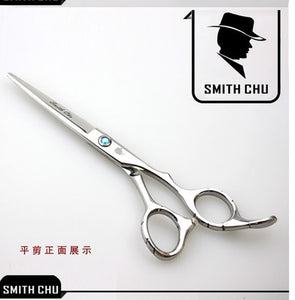 "6.0"" Hairdressing Barber Professional Cutting Scissors Hair Shears  Smith Chu Japan 440c Salon Hair Thinning Scissors LZS0007"