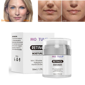 Retinol 2.5% Moisturizing Cream Anti Aging and Reduces Wrinkles and Fine Lines Day and Night Retinol Cream