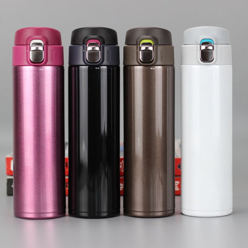 Fashion Travel Mug 500ml Tea Coffee Mug Water Vacuum Cup Thermos Stainless Steel Tumbler Thermocup Travel Drink Bottle