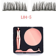 Load image into Gallery viewer, Waterproof EyeLiner Liquid Magnetic Eyeliner Quick dry Eye liner Set Easy To Wear Makeup Cosmetic Rose Gold bottle Eye Liner