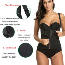 Load image into Gallery viewer, Neoprene Sauna Vest Waist Trainer Cincher Women Body Slimming Trimmer Corset Workout Thermo Push Up