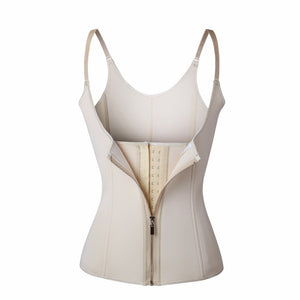 Neoprene Sauna Vest Waist Trainer Cincher Women Body Slimming Trimmer Corset Workout Thermo Push Up