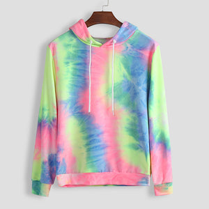 2019 New Social Personality Men Autumn And Winter Tie-dye Hoodie Lover Top Blouse Thickening Coat  Hooded sweatshirt #20