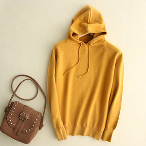 Streamgirl Hoodies Sweatshirts Women Long Sleeve Hoody Ladies Slim Knitted Hoodie Female Sweatshirt For Women Hoodies Spring