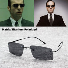 Load image into Gallery viewer, JackJad The Matrix Style Polarized Driving Men Sunglasses Brand Design Titanium Memory Frame Sun Glasses