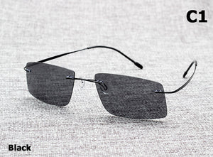 JackJad The Matrix Style Polarized Driving Men Sunglasses Brand Design Titanium Memory Frame Sun Glasses