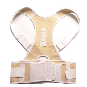 Male Female Adjustable Magnetic Posture Corrector Corset Back Brace Back Belt Lumbar Support Straight Corrector S-XXL