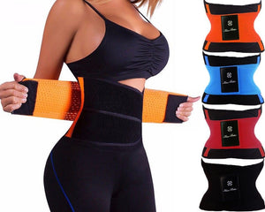Miss Moly Sweat Waist Trainer Body Shape Shaper Extreme Power Modeling Belt Girdle Tummy Slimming Fitness Corset Shape Wear